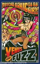 Vince Ray Rock Art Poster Print Pulp Fiction Psycho Sonic Girl Rockabilly