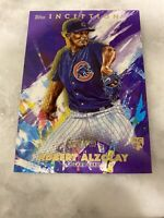 2020 Topps Inception Purple #38 ADBERT ALZOLAY RC #55/150 CUBS