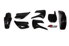 Kawasaki KX100 2003 2004 2005 2006 2007 Black Plastic Kit Plastics KX0-NR0-507
