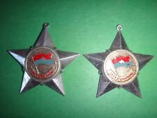 2 Vietnam War VC Medals w/o Ribbons CHIEN SI GIAI PHONG Soldier Of Liberation