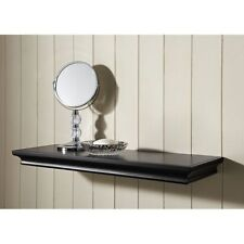 Classic Style Black Wall Floating Shelves Storage Ledges Home Decor