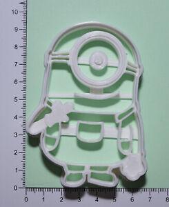 Minions stuart Cookie or fondant  Cutter 3d printed