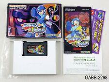 Complete Rockman & Forte Megaman Game Boy Advance Japan Import GBA US Seller