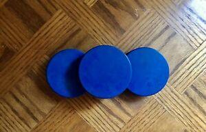 Inglasco 4oz Blue Hockey Puck Pack(s) - NEW!