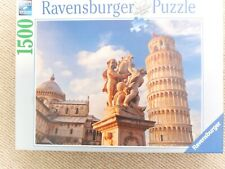 Ravensburger 1500 pc Leaning Tower of Pisa - complete,clean,odourless in box