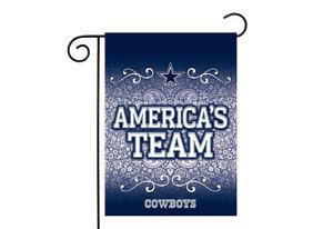 Rico Dallas Cowboys 13x18 Premium Stitched 2-Sided Outdoor Garden Flag Banner