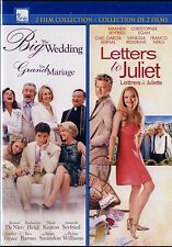 NEW DOUBLE FEATURE DVD // THE BIG WEDDING + LETTERS TO JULIET / AMANDA SEYFRIED