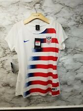 Nike Team USA Womens Soccer Jersey 2018 Size L 893961-100 - NWT New White Red Bl