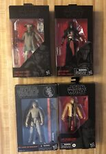 "Star Wars Black Series Luke Skywalker Darth Revan Zuvio 6"" Action Figures"