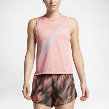 Ladies NIKE RUNNING DRY Tank Vest. Size Large.  Pink.  836793-808