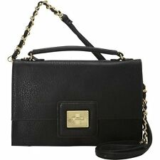 Olivia And Joy New Black Adorno Convertible Crossbody Bag Osfa