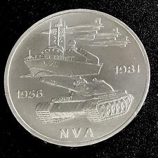 DDR  10 Mark 1981 A - 25 Jahre  NVA  - unzirkuliert/unc.- Sammler-Stück