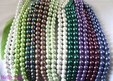 450 Mixed color Magnetic Hematite round Beads 8mm M3384