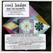 (EO315) Laura Veirs, America - 2013 DJ CD