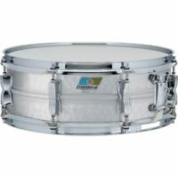 "Ludwig LM404K Acrolite Hammered Aluminum Snare Drum w/ Twin Lugs, 5"" x 14"""