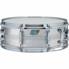 """Ludwig LM404K Acrolite Hammered Aluminum Shell Snare Drum w/ Twin Lugs, 5""""x 14"""""""