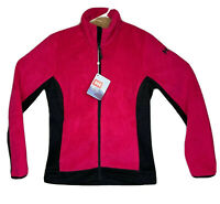 Helly Hansen Womens Feather Pile Zip Up Jacket Dragonfruit/Pink Size Medium NWT