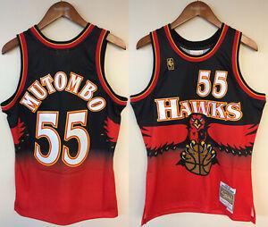 Dikembe Mutombo Atlanta Hawks Mitchell & Ness NBA 1996-1997 Authentic Jersey HWC