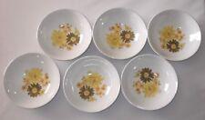 Vintage Pottery Crown Lynn Topaz Pat No:580 Dessert Bowls New Zealand