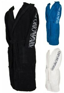Hooded sponge bathrobe man EMPORIO ARMANI item 110799 8P591