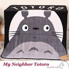 Anime My Neighbor Totoro Soft Fleece Bedding Throw Blanket Warm Rug Kid's Gift