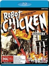 Robot Chicken : Season 6 (Blu-ray, 2013) Brand New  Region Free
