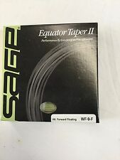 "SAGE EQUATOR TAPER II WF9F SALTWATER FLY LINE- NEW IN BOX "" OVER 60% OFF RETAIL"""