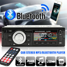 Bluetooth Car Stereo Audio In-Dash FM Aux Input Receiver SD USB MP3 Radio Remote