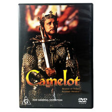 Camelot (DVD) 1967 - Richard Harris - Vanessa Redgrave - Adventure Romance - R4