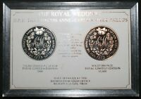1973 The Royal Wedding Princess Anne & Cpt. Mark Phillips Medallions | KM Coins