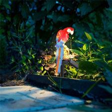 Energía Solar LED Luz de Césped loro Jardín Paisaje Lámpara impermeable al aire libre de Decoración