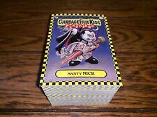 2010 GARBAGE PAIL KIDS FLASHBACK SERIES 1 FB1 COMPLETE BASE SET 160 CARDS OS1