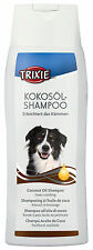 Natural Coconut Oil Dog Shampoo Eases Combing in Long Haired Dogs 250ml