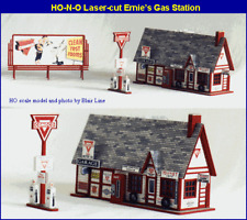 Blair Line (HO-Scale) #181 ERNIE's GAS STATION Laser Kit - NIB
