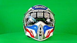Airoh J 106 - CAMBER Motorcycle Helmet (White - Matt) NEW & BOXED
