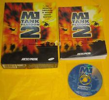 M1 TANK PLATOON 2 Pc Versione Inglese Big Box 1ª Edizione »»»»» USATO