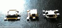 CONNETTORE DI RICARICA 5 PIN PORTA INGRESSO JACK Micro USB X SMARTPHONE E TABLET