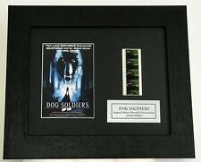 More details for dog soldiers cast signed limited edition original filmcell memorabilia coa