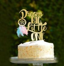 Dream Big Little One Cake Topper Baby Shower Dream Catcher Boho Tribal Party