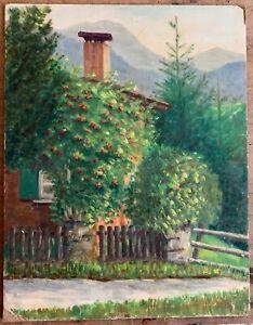 Marika Eversfield (1914-2014) - 20th Century Oil, mountain scene