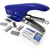 Rapesco SP-10 Graffatura Pinze - 12 Foglio - Blu/Cromo + 1000 10/4mm Graffette