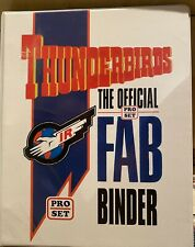 More details for thunderbirds pro set trading cards - complete in binder