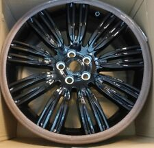 "Range Rover L405 OEM 22"" x 9.5"" 9 Split Spoke Wheel Set Pincer AF Gloss Black"