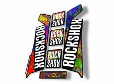 Rock Shox Reba 2016 Fork Decal Mountain Bike Cycling Sticker Adhesive Oil Slick