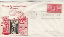 971 Volunteer Firemen First Day Cover