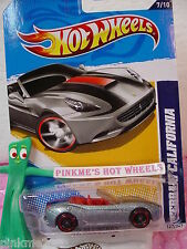 CASE Q 2012 i Hot Wheels FERRARI CALIFORNIA  #127∞New met GRAY∞All Stars∞