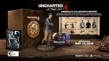 Uncharted 4 Libertalia Collectors Edition Limited Playstation 4 PS4 *NEW SEALED*