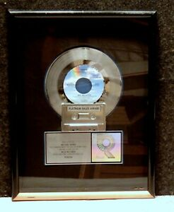1990 TO MICHAEL BIVINS RIAA 1,000,000 PLATINUM RECORD SALES AWARD FOR POISON