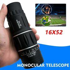 High Power HD Monocular Telescope 16X52 Binoculars Night Vision Tourism Spyglass