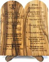 Ten (10) Commandments Tablets or Decalogue Given to Moses on Mount Horeb -